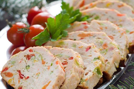 spinach chicken terrine recipe